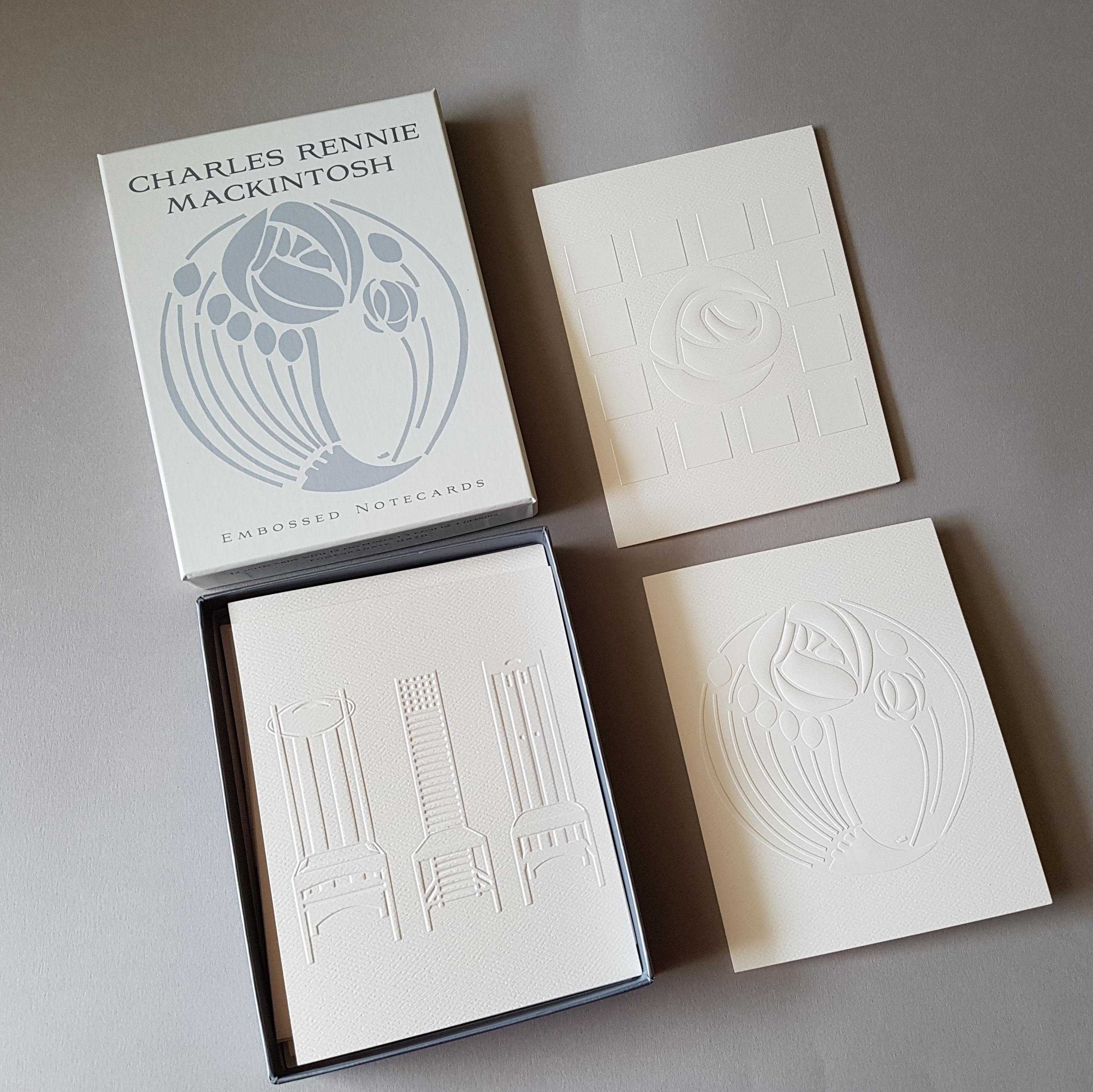 CRM EMBOSSED NOTECARDS