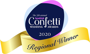 Confetti Wedding Venue Awards Logo
